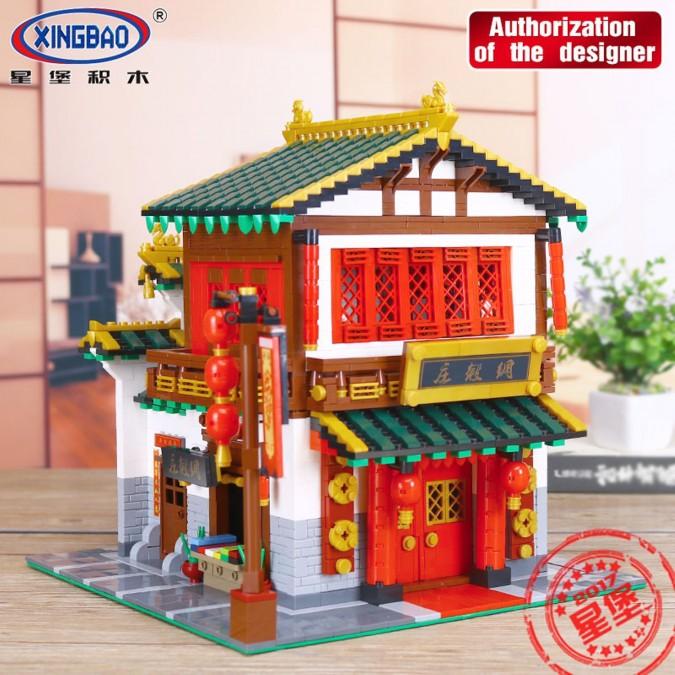 Sklep Jedwabiu China Town Do Zbudowania Z Klocków 2787 Części