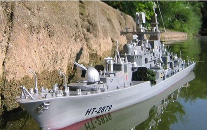 Rosyjski Niszczyciel Sowriemiennyj 956a Ht 2879a 78cm Długości Modele łodzi Rc Sklep Gimmik