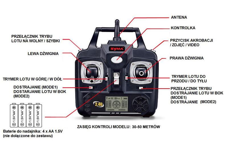syma x54hw z kamera w sklepie